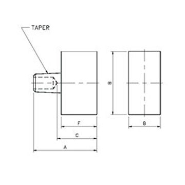 Tipaloy Rectangular Face Tips | Weld Systems Integrators