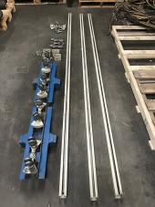 Used Trans-Gun Bridge Rail System - Serial #W-3094 | Weld Systems Integrators