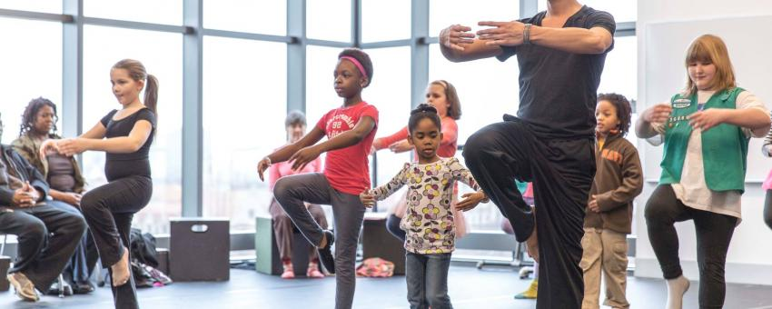 Logan Center Family Saturdays  UChicago Arts  The