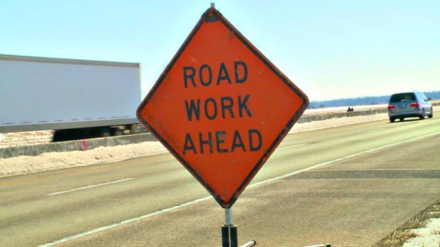 road-work-ahead