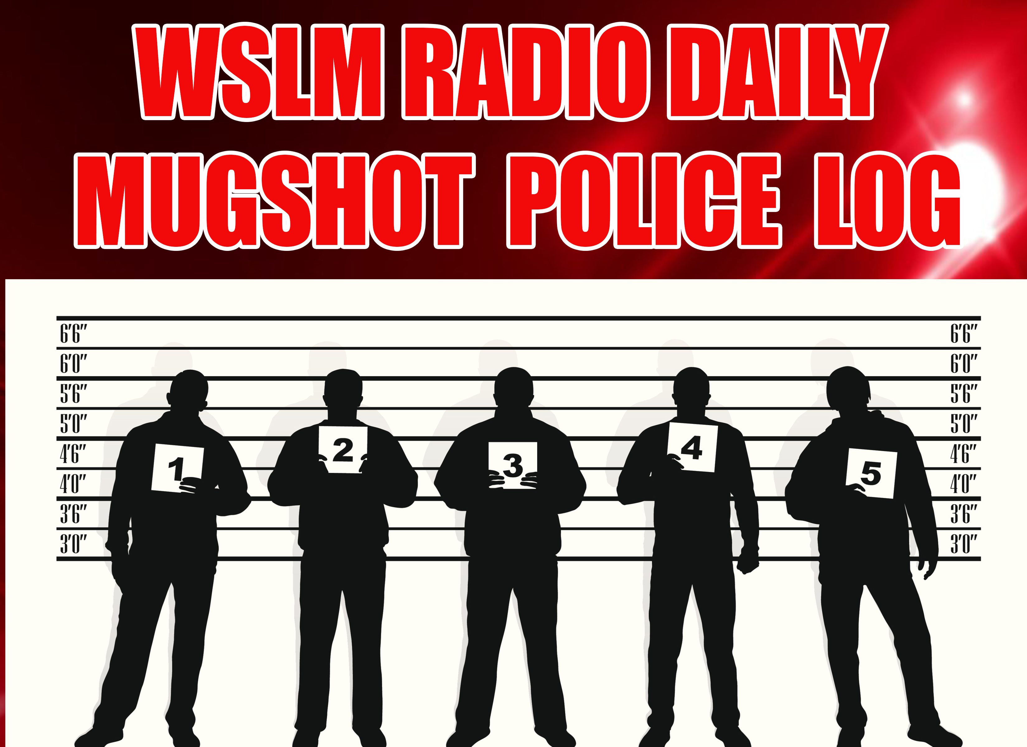 Jackson County Inmate Roster – 3-12-18 | WSLM RADIO