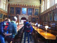 Oxford, Christ church Dining room