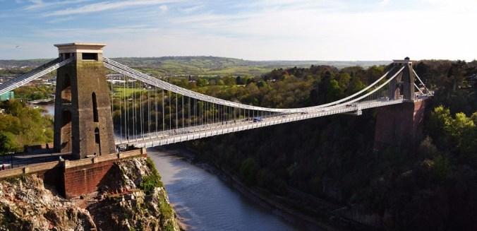 Le Clifton Suspension Bridge