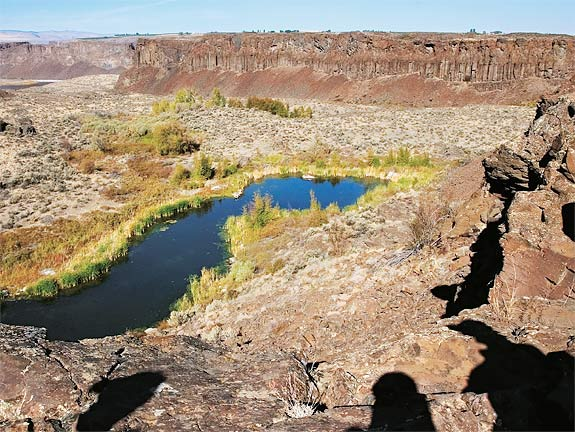 Where Water Meets Desert  Spring 2005  Washington State Magazine