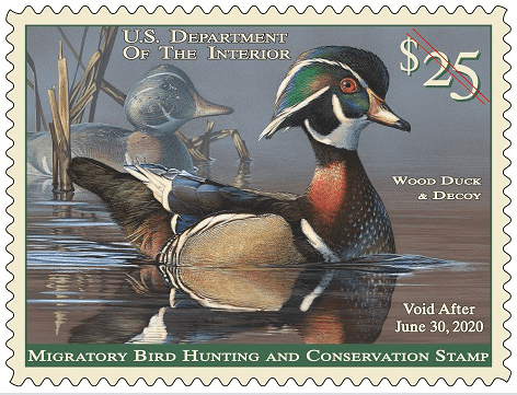 federal duck stamps wisconsin
