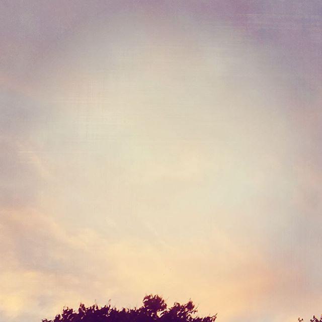 トラブル続きでもかまわぬ夕空。気を取り直してまたあした。はあ。人生は楽ありゃ苦もあるさ。とほは。#イマソラ #mysky #sky #sunset #cloudy