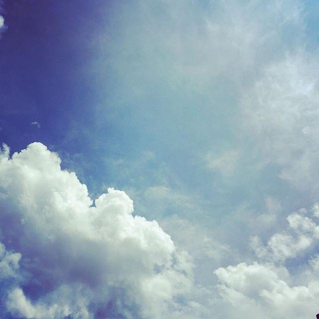むせるような暑さです。#イマソラ #mysky #sky #cloud #summer #blue #fine #暑
