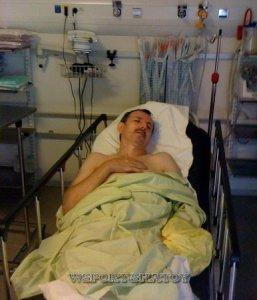 В госпитале, 2004г.