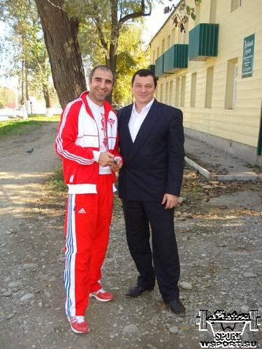 Асламбек Амаев и Муслим Гапуев