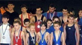 Чеченские спортсмены в Австрии