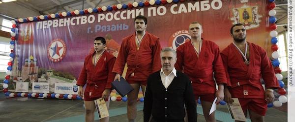 Серебро Тамерлана Башаева в самбо