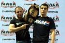 Мехди Дакаев не уехал из Монако без пояса чемпиона
