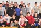 Сборная ЧР по греко-римской борьбе проводит сбор в Шатое
