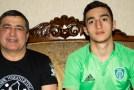 В борцовской династии Бадаловых появился футболист