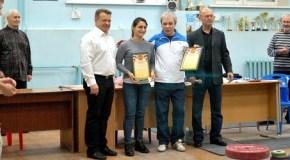Награждение призеров турнира WSPORT-SHATOY