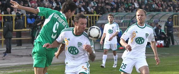 «Терек» одержал победу в гостях в Томске
