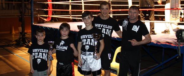 Wayclub добивается успехов в полноконтактном каратэ