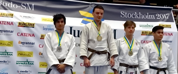 Джам Амхадов— чемпион Швеции по дзюдо
