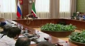 Глава ЧР встретился с руководителями федераций