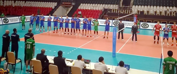 «Грозный» проиграл первый матч в Дворце волейбола