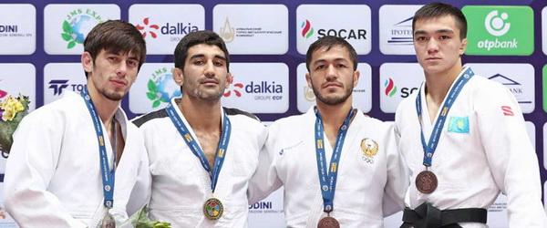 Ислам Яшуев— серебряный призер Гран-При Узбекистан