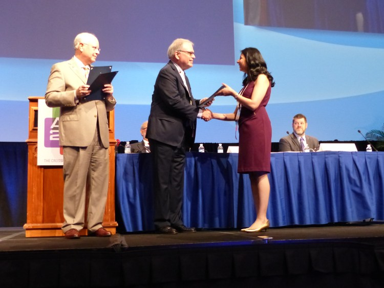 Pooja Voria MD receives chapter recognition award at ACR 2017 annual conference
