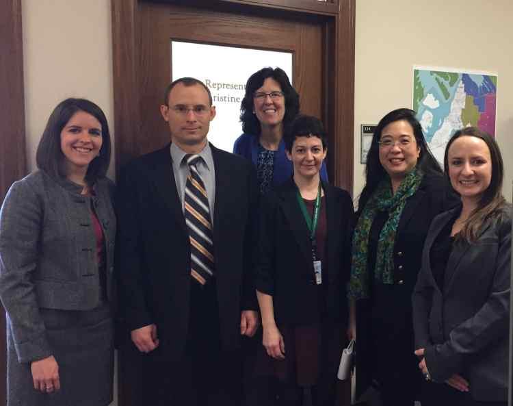 WSRS delegation visits Rep Christine Ryu 1-26-17 - cropped
