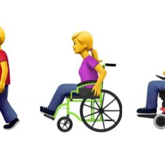 Wheelchair Emoji Office Chair Accessories Decor Apple Proposes New Emojis Representing Users With Disabilities