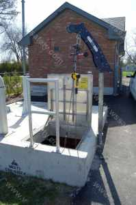 water treatment confined space
