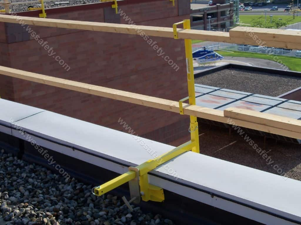 A Temporary Guardrail The Versa Clamp And The Para Clamp