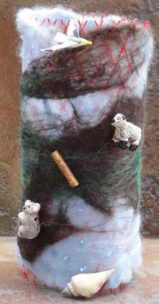 Felted and Embelished : Meg Wilson