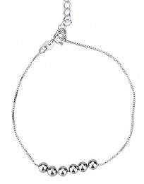 925 Sterling zilveren armband ballen