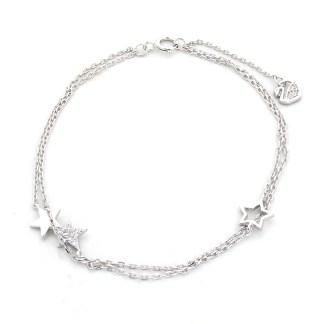 Armband met sterren van Sterling 925