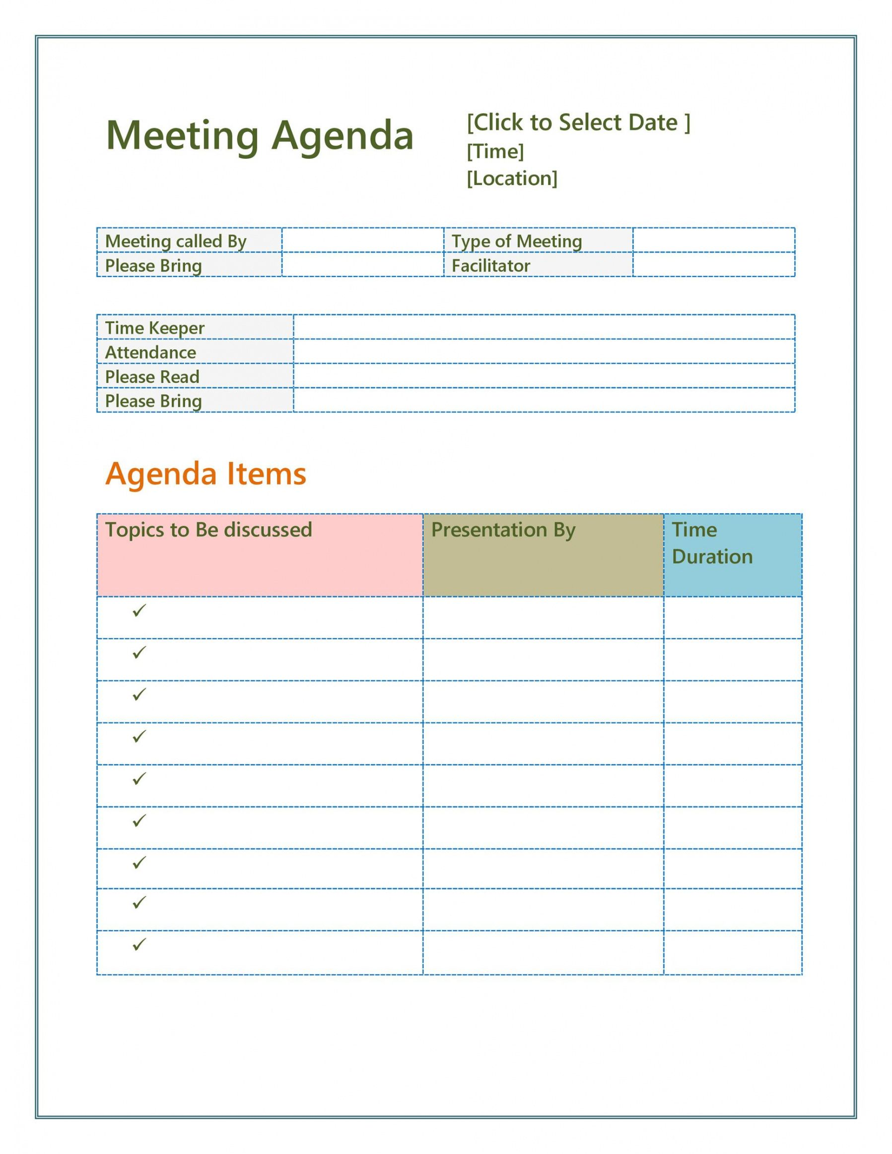 Explore the wide variety of free agenda templates, including the classic meeting agenda template in word and the flexible agenda in excel. Free 46 Effective Meeting Agenda Templates Templatelab Word Agenda Template Free Download Sample Wssufoundation