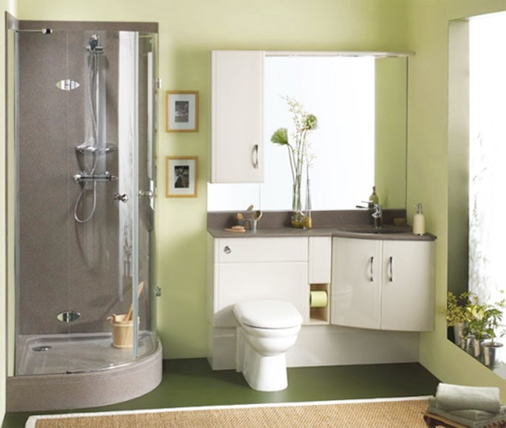 Making the Most Out of a Small Bathroom  Making a Small Bathroom Seem Larger
