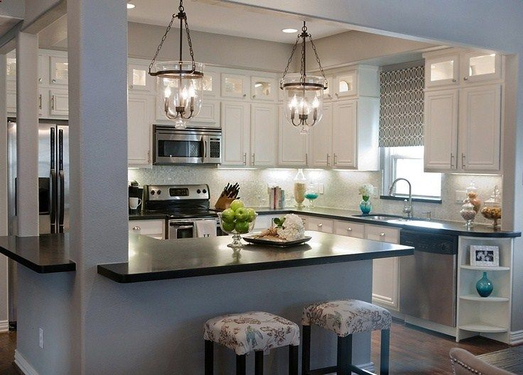 Home Remodeling Tips  Some Hybrid OpenClosed Layout Design Ideas for Your Kitchen Remodel