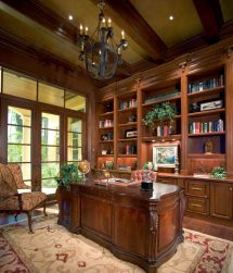 Traditional Home Office Study Ideas