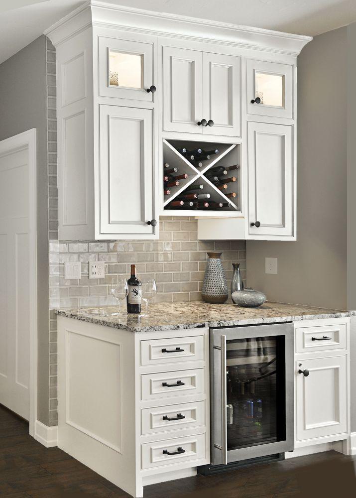 Kitchen Design Tips  Different Beverage Center Ideas That