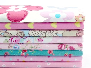 2016-New-Floral-Style-Patchwork-Cotton-Fabric-Fat-Quarters-Sewing-Patchwork-Textile-Fabric-For-Dog-Clothes