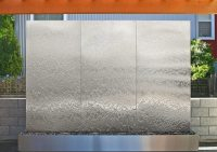 Brushed Stainless Steel Wall Art - Elitflat