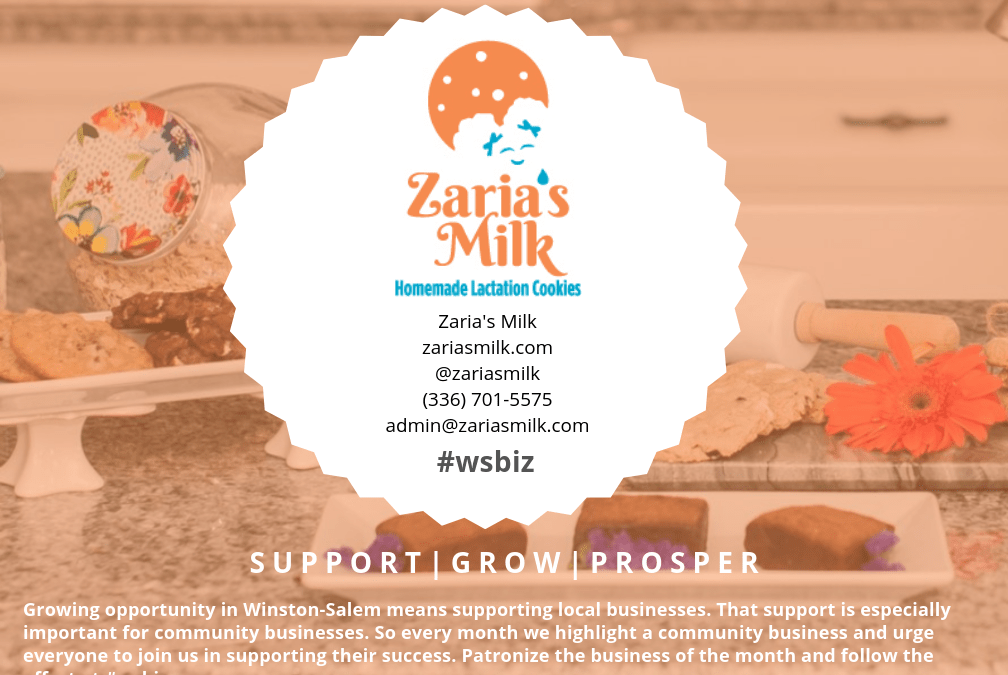 Community Business of the Month: Zaria's Milk