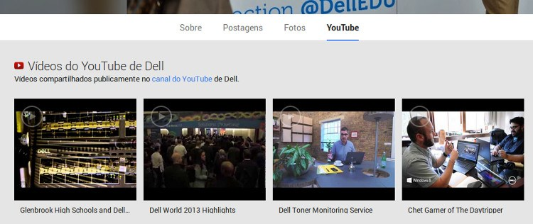 dell-youtube-google-page