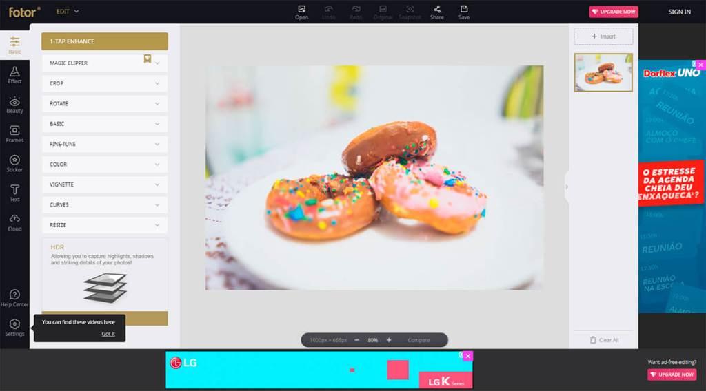 4 ferramentas online de edição de imagens 2