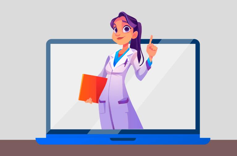 A importância de sites para médicos