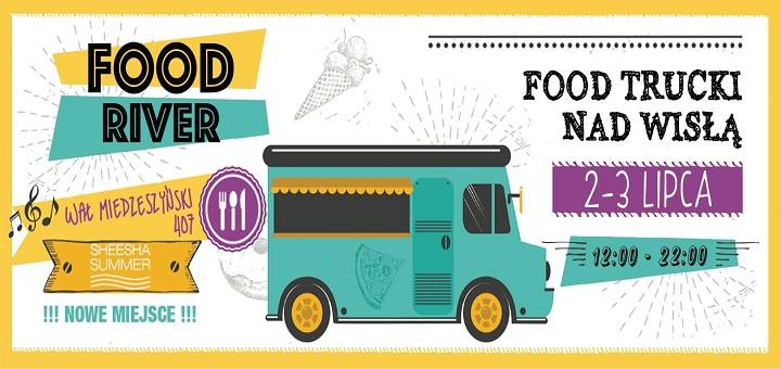 Food River - zlot food trucków nad Wisłą