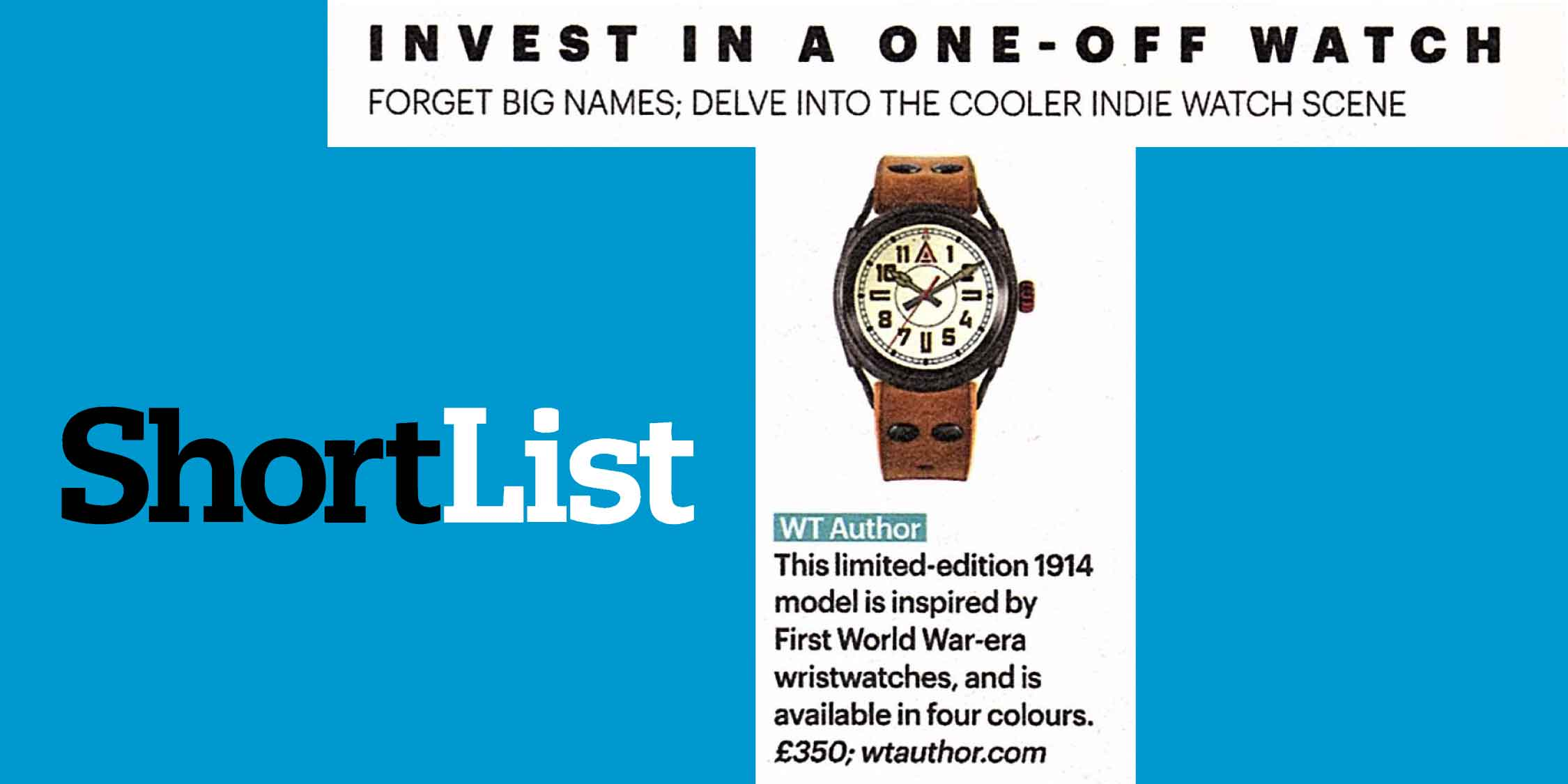 Trench watches wt author no 1914 shortlist