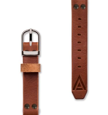 Custom Leather Watch Strap by WT Author Front