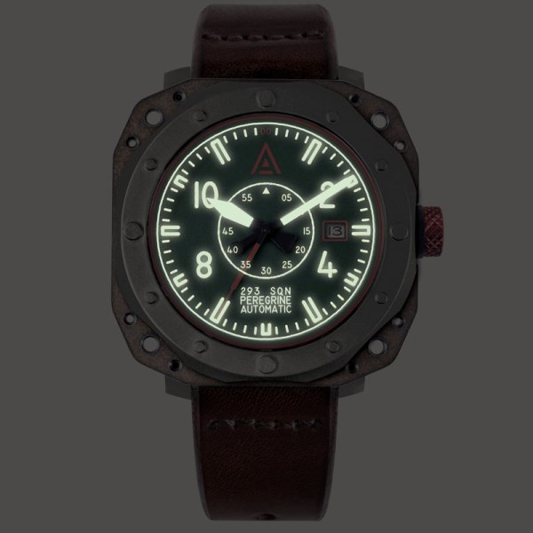 Aviation watch by wt author green no 1940 lume