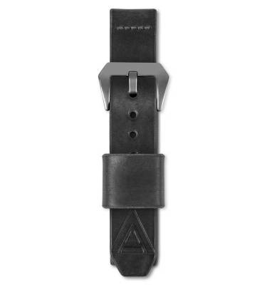 Military watch strap by wt author fastened