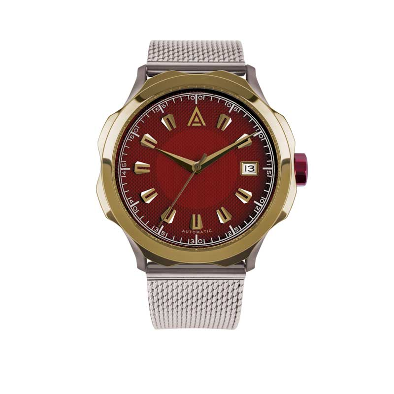 MEN'S DRESS WATCH RAD MESH Nº 1953 FRONT